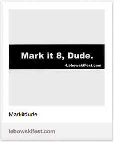 Mark It Dude