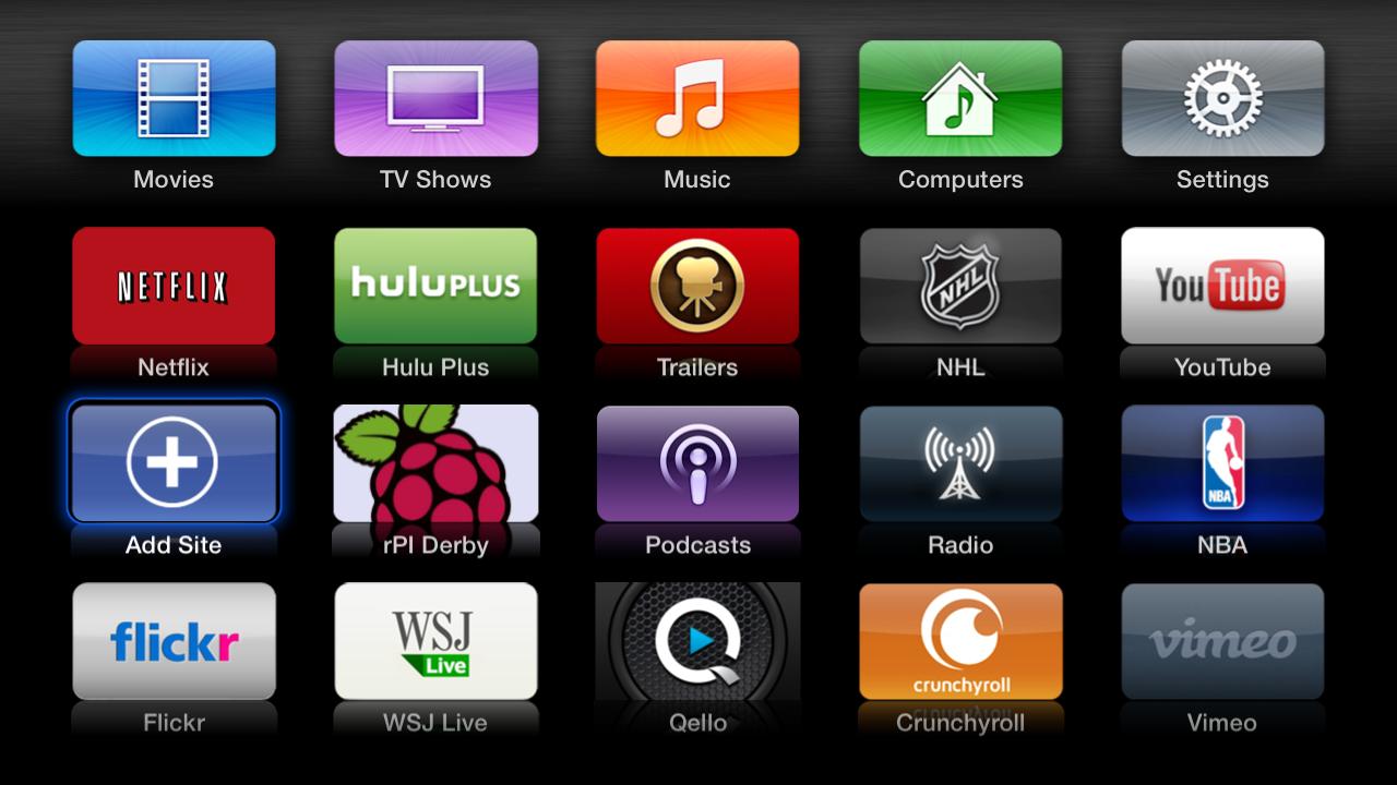 Raspberry Pi Media Center on AppleTV - No Jailbreak Required | Darth