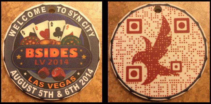BSidesLV 2014 Badge