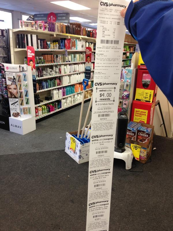 Great CVS Receipt